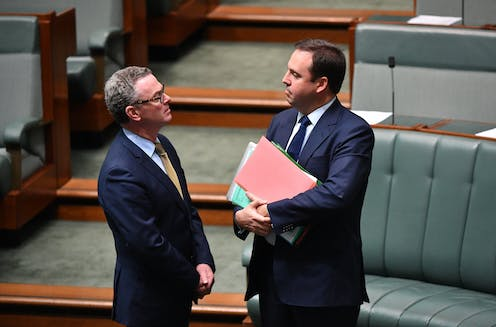Cabinet ministers Pyne and Ciobo set to head out door