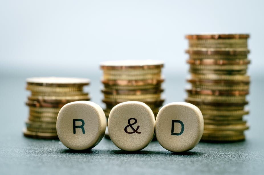 It's not (just) about the money  How R&D funds are spent