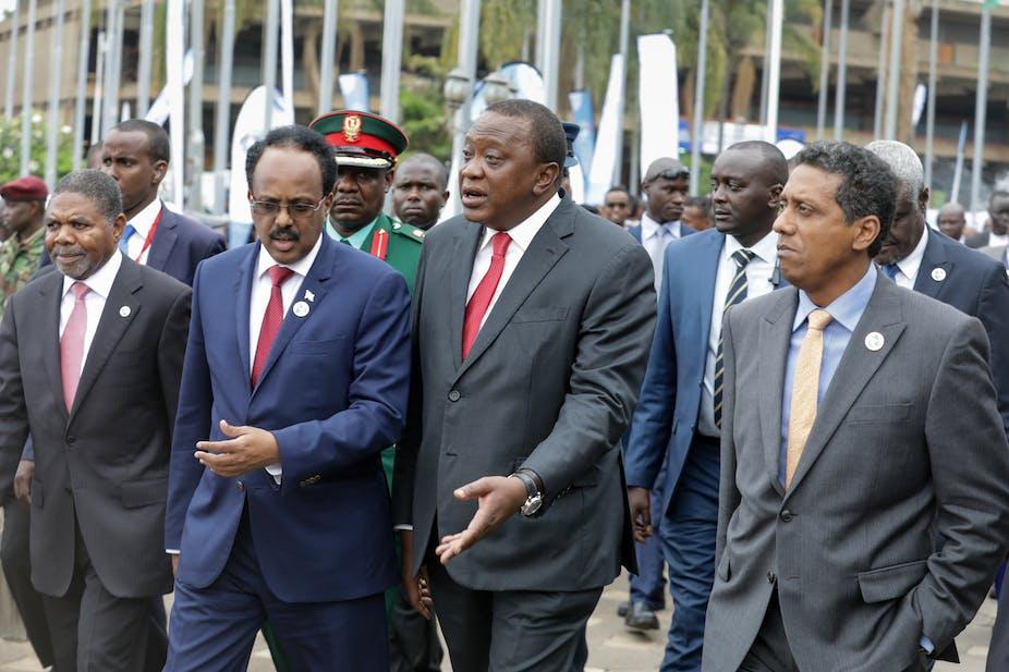 Image result for uhuru vs somalia president