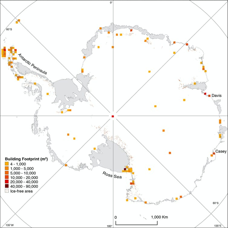 For the first time, we can measure the human footprint on Antarctica