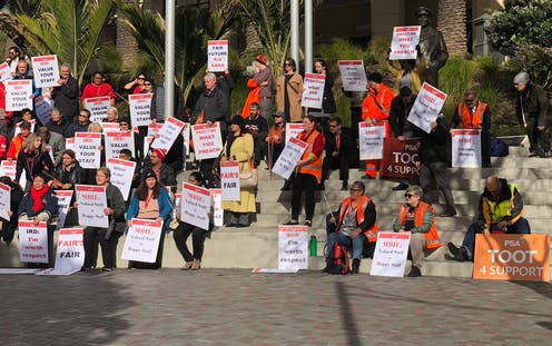 the revival of strikes in New Zealand