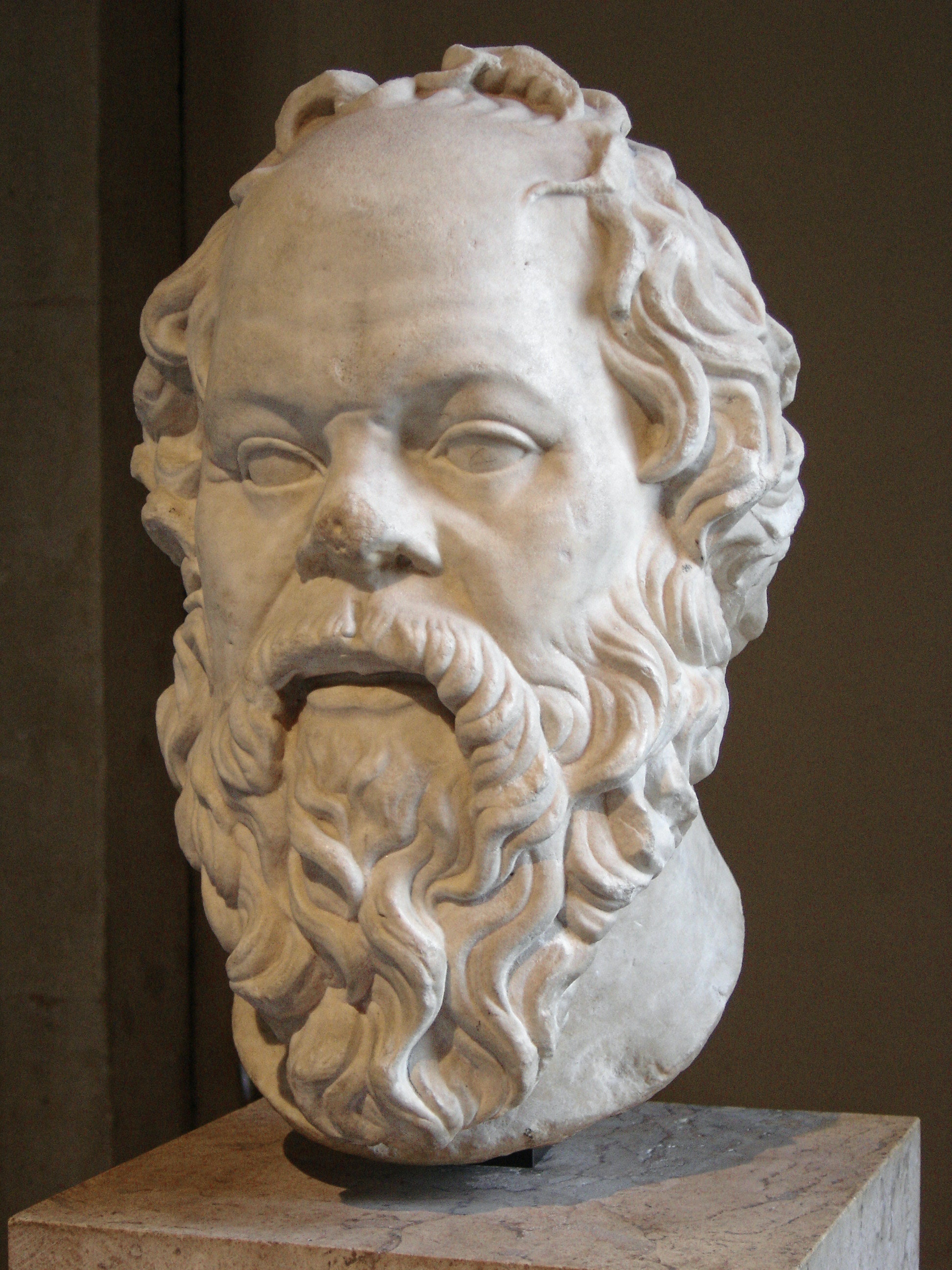 Socrates. Credit: Sting, Wikimedia Commons, CC BY-SA