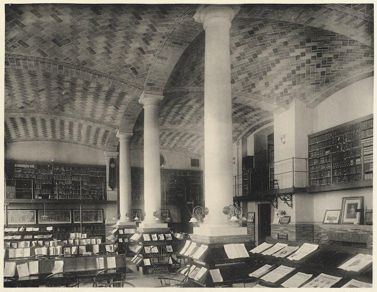 university periodicals room