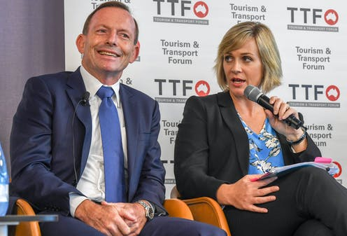 Tony Abbott tries some climate adaptation for the winds of Warringah