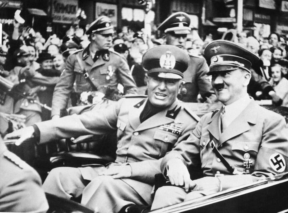 After 100 years, Mussolini's fascist party is a reminder of the fragility of freedom