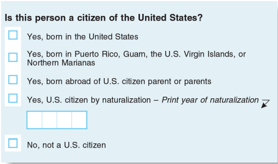 photo regarding Printable United States Citizenship Test identified as Introducing a citizenship marvel in the direction of the 2020 census would value