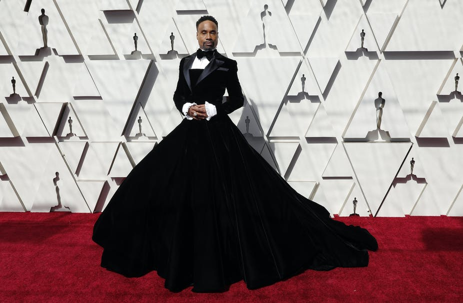 88c3856c9 Billy Porter arrives for the 91st annual Academy Awards ceremony. February  24, 2019.