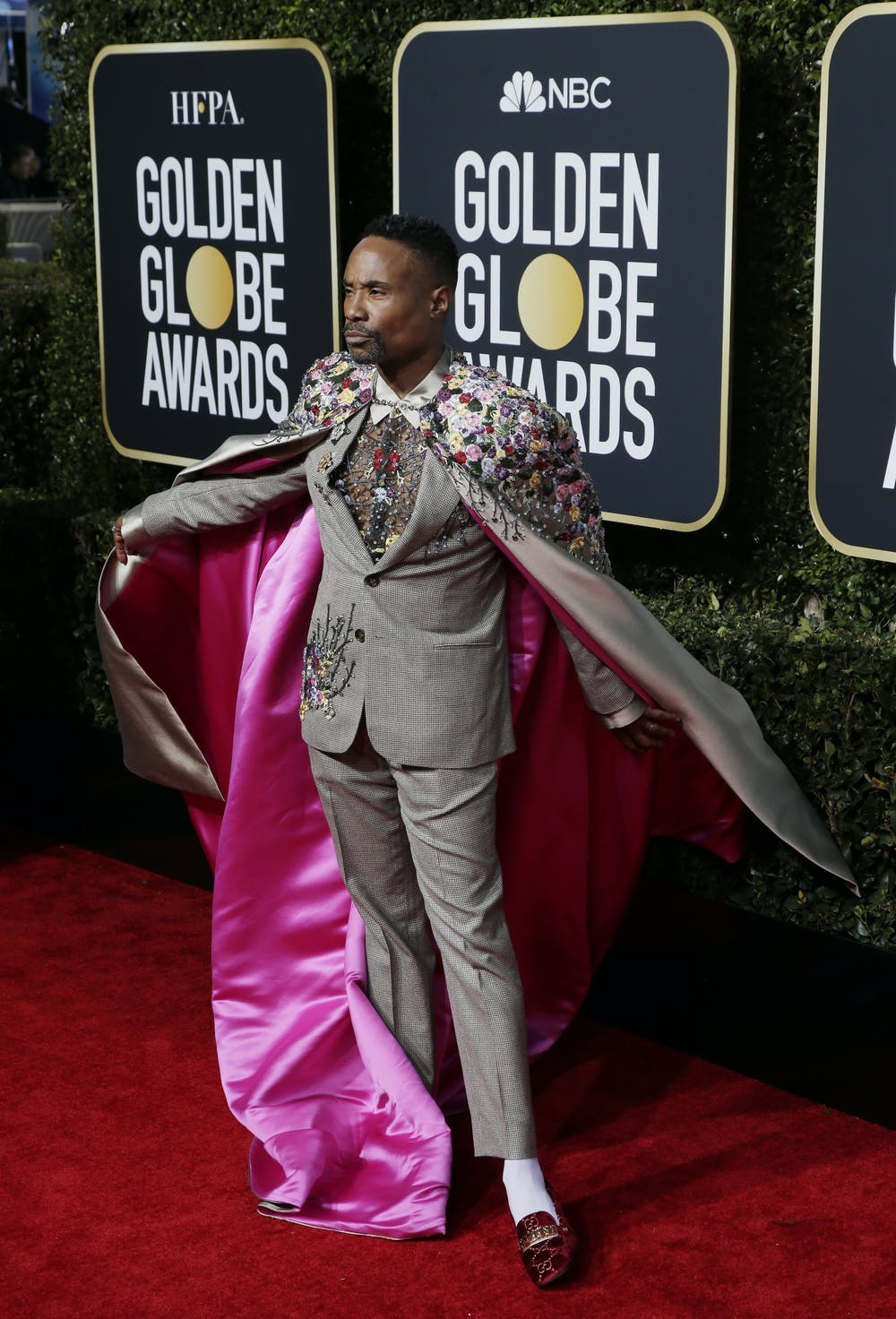 78c47ad0eb Billy Porter at the Golden Globes.