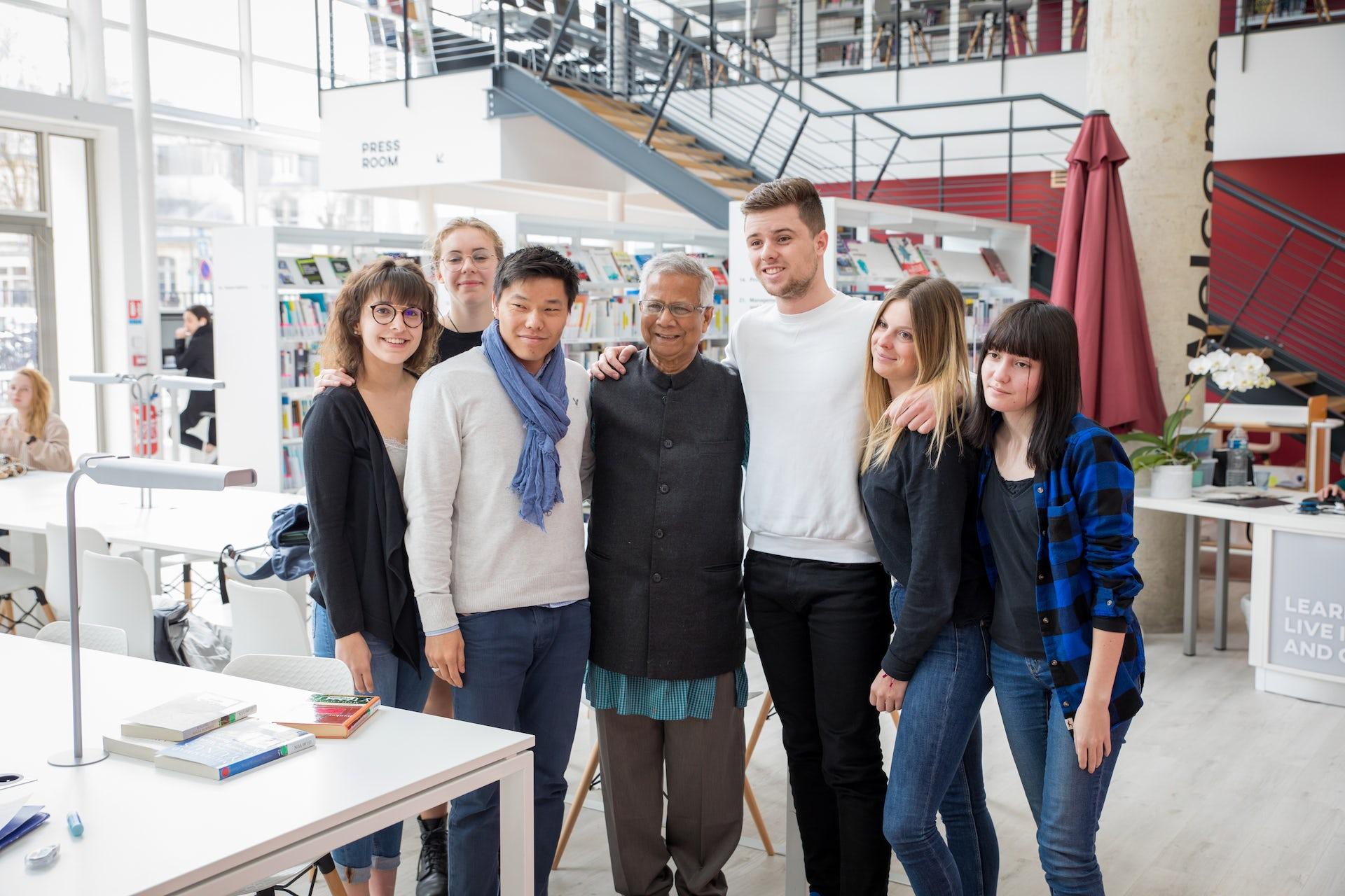 Retour d'expérience : Muhammad Yunus, un leadership inspirant