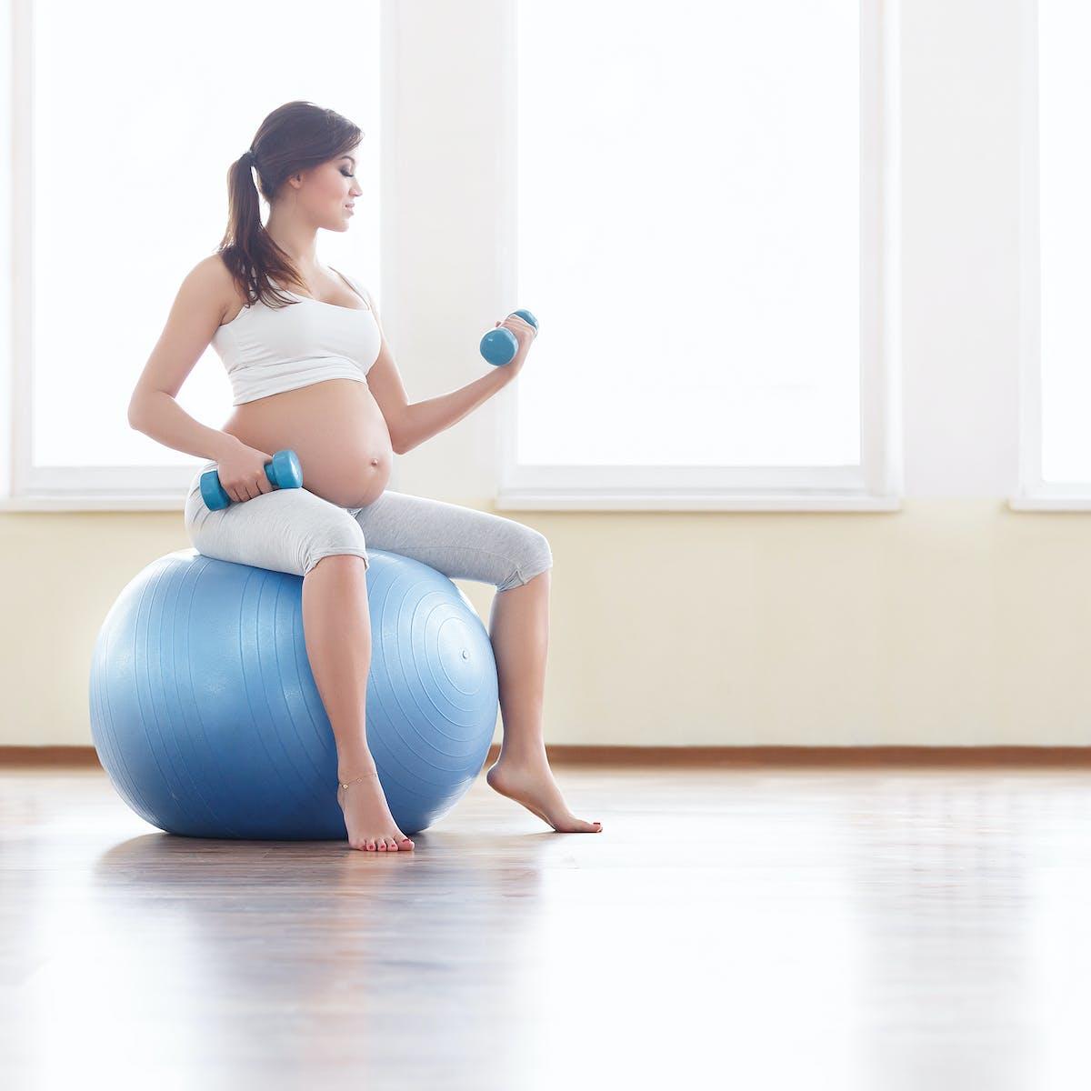 ejercicios para el embarazo tercer trimestre
