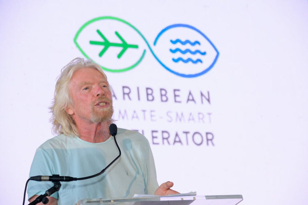 Jamaica leads in Richard Branson-backed plan for a Caribbean climate