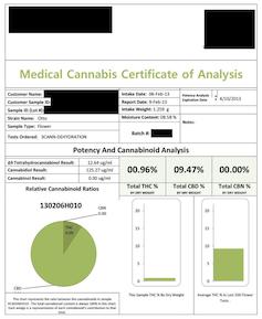 Medical Marijuana Analysis
