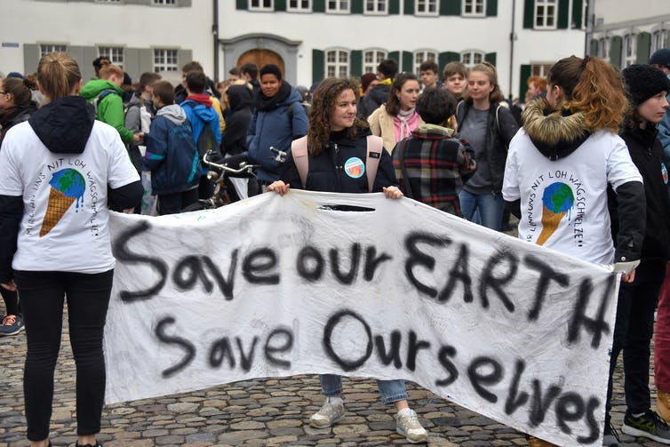 The terror of climate change is transforming young people's identity