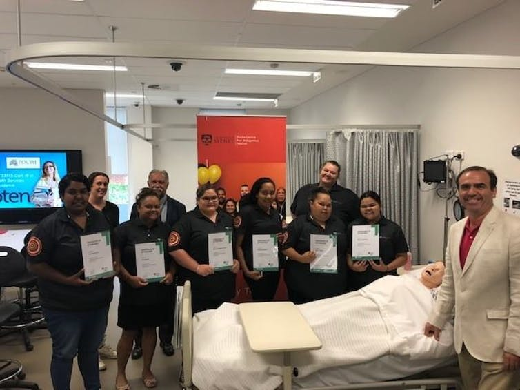 New TAFE program for Aboriginal health-care students sees a near perfect completion rate