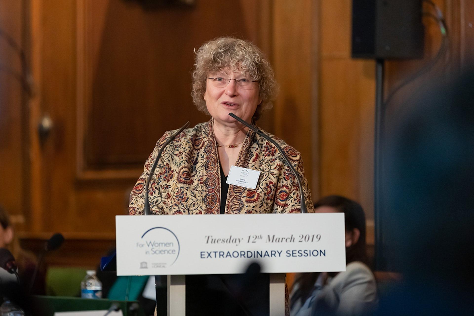 Qui est Ingrid Daubechies, prix L'Oréal-Unesco pour les femmes et la science ?
