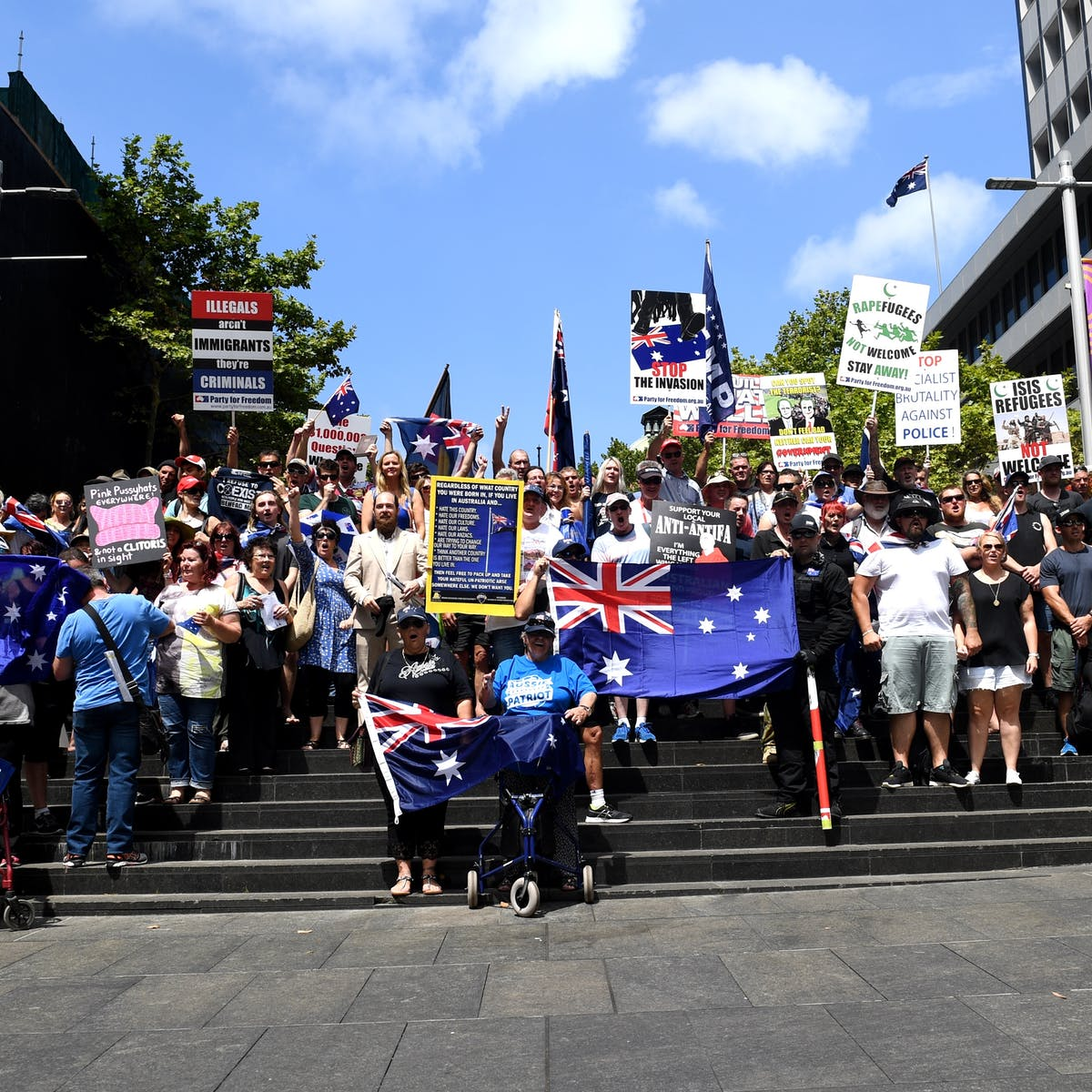 Right-wing extremism has a long history in Australia
