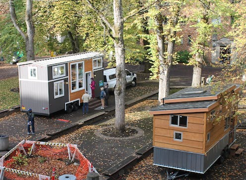 Image result for When people downsize to tiny houses, they adopt more environmentally friendly lifestyles