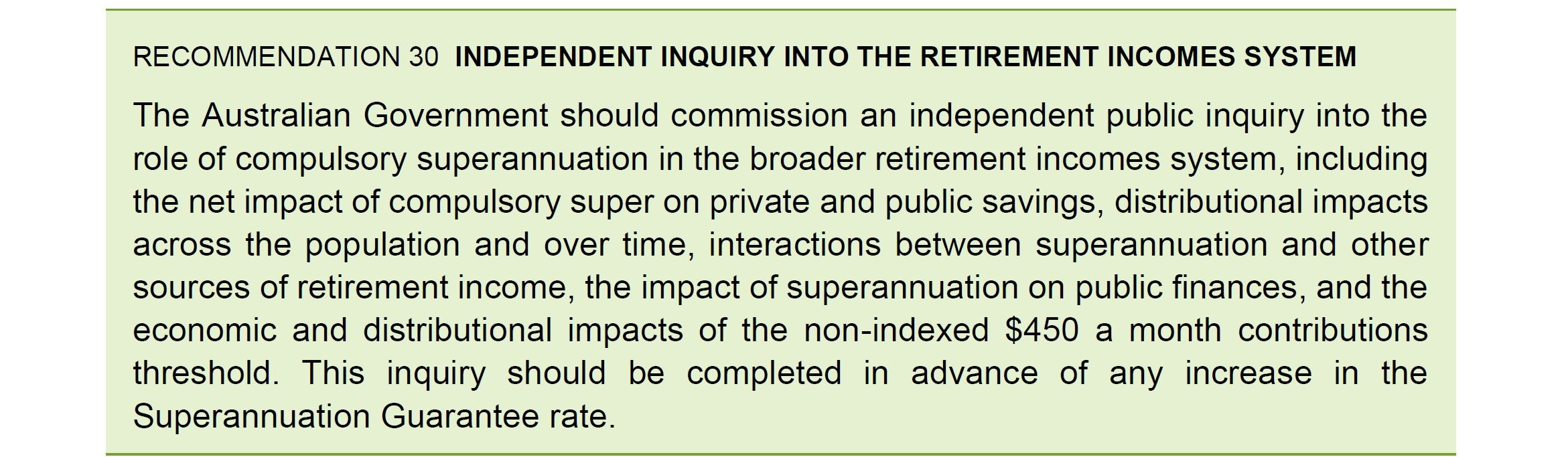 Frydenberg should call a no-holds-barred inquiry into superannuation now, because Labor won't