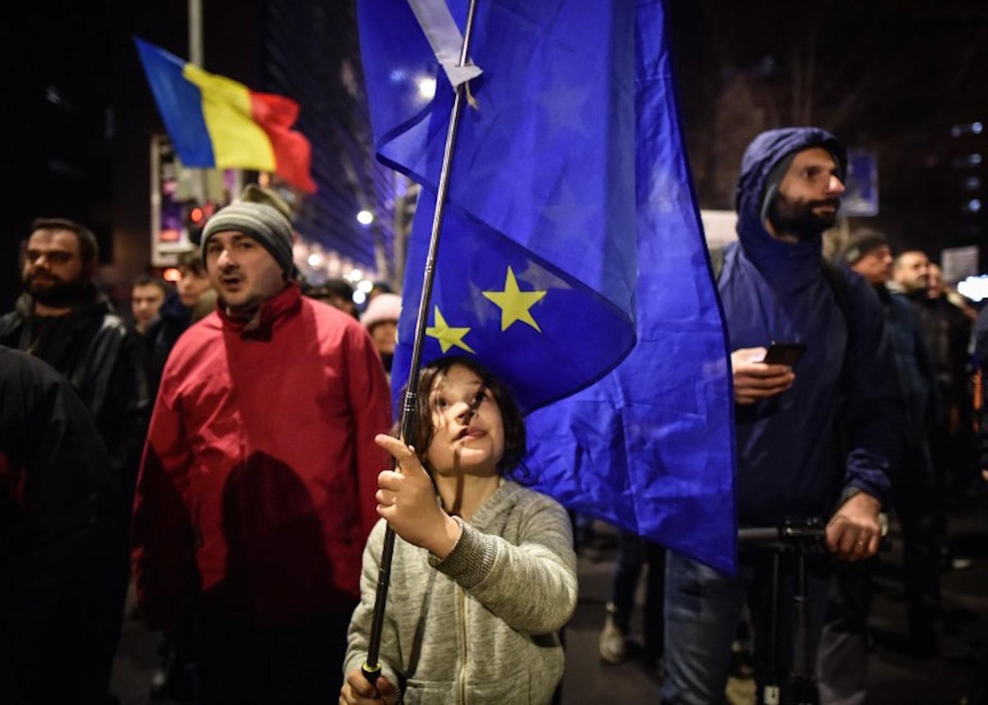 La Roumanie, le pays où le peuple est plus pro-européen que ses élites