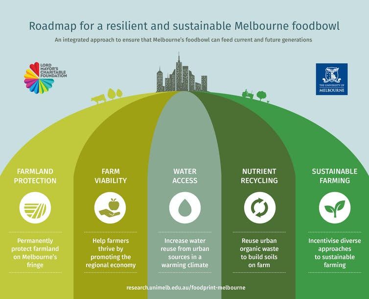 To protect fresh food supplies, here are the key steps to secure city foodbowls