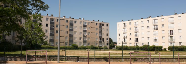 Paris? Melbourne? Public housing doesn't just look the same, it's part of the challenges refugees face