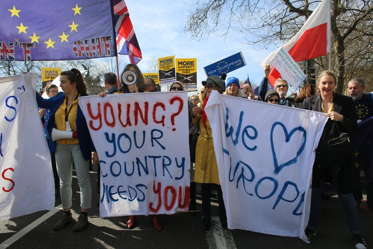 despite textbooks that are not favorable to Europe, English youth stood against Brexit