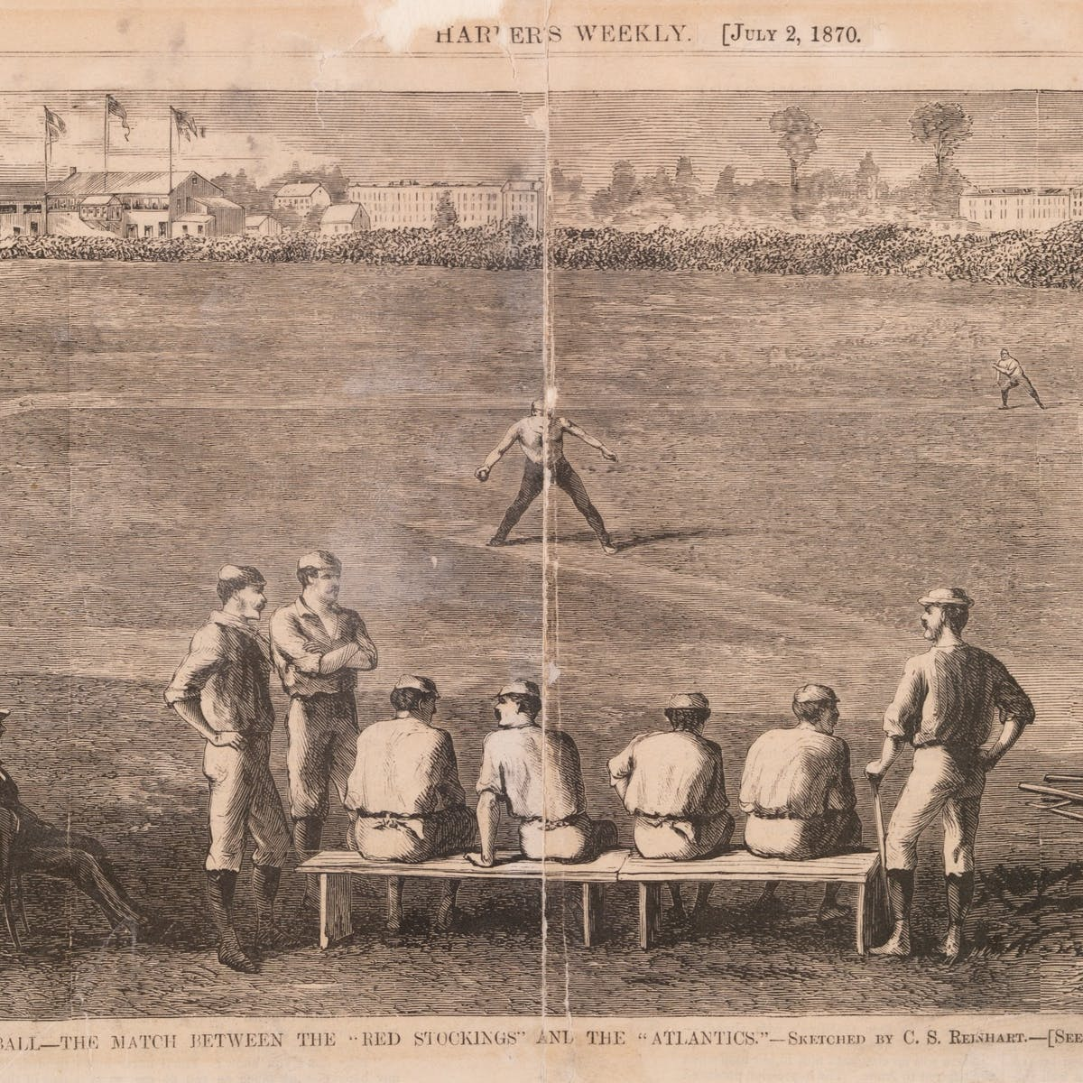 How The 1869 Cincinnati Red Stockings Turned Baseball Into A