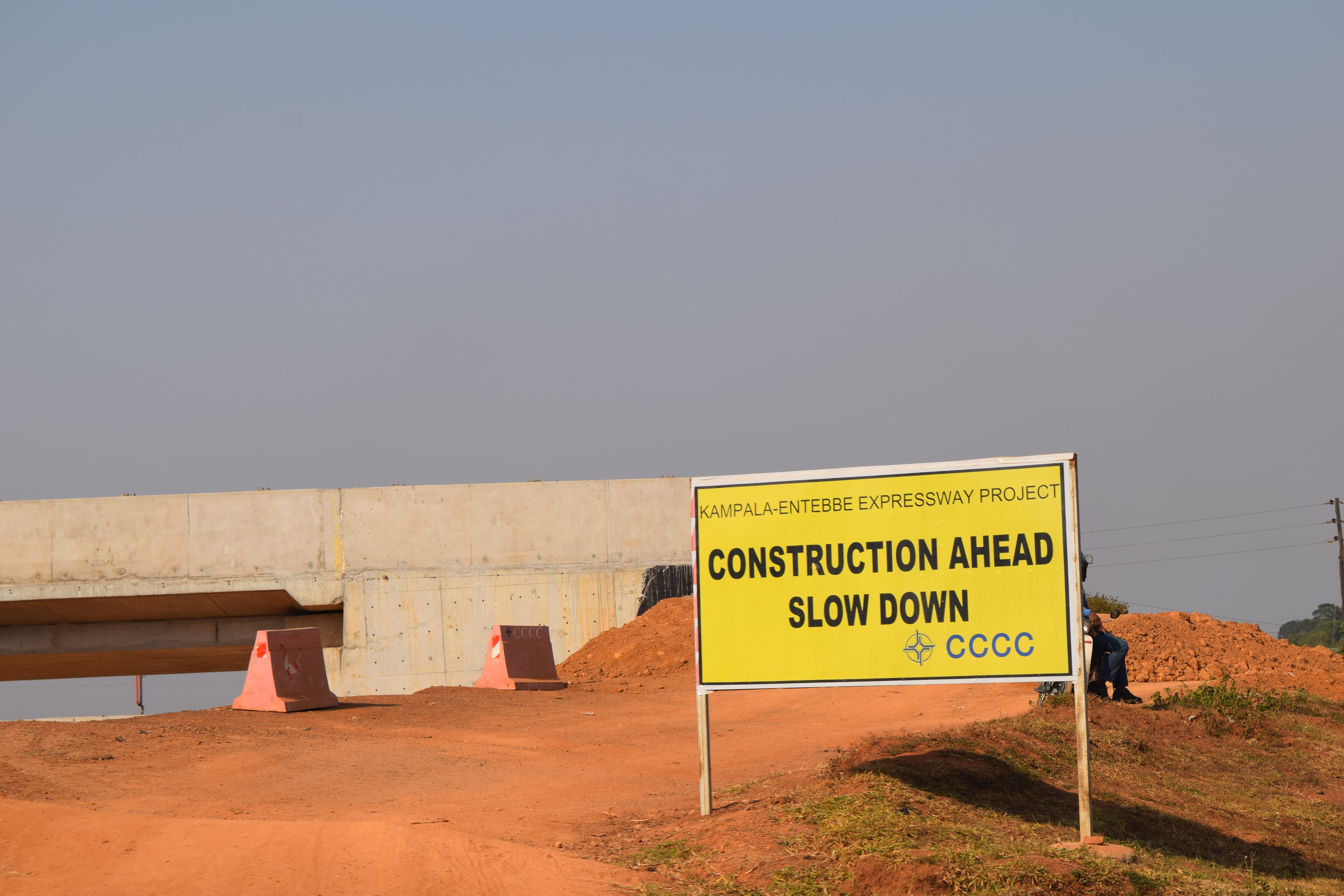 Under construction: the Chinese-funded Entebbe-Kampala Expressway. Photo credit: Dylan Patterson/Flickr, CC BY-SA