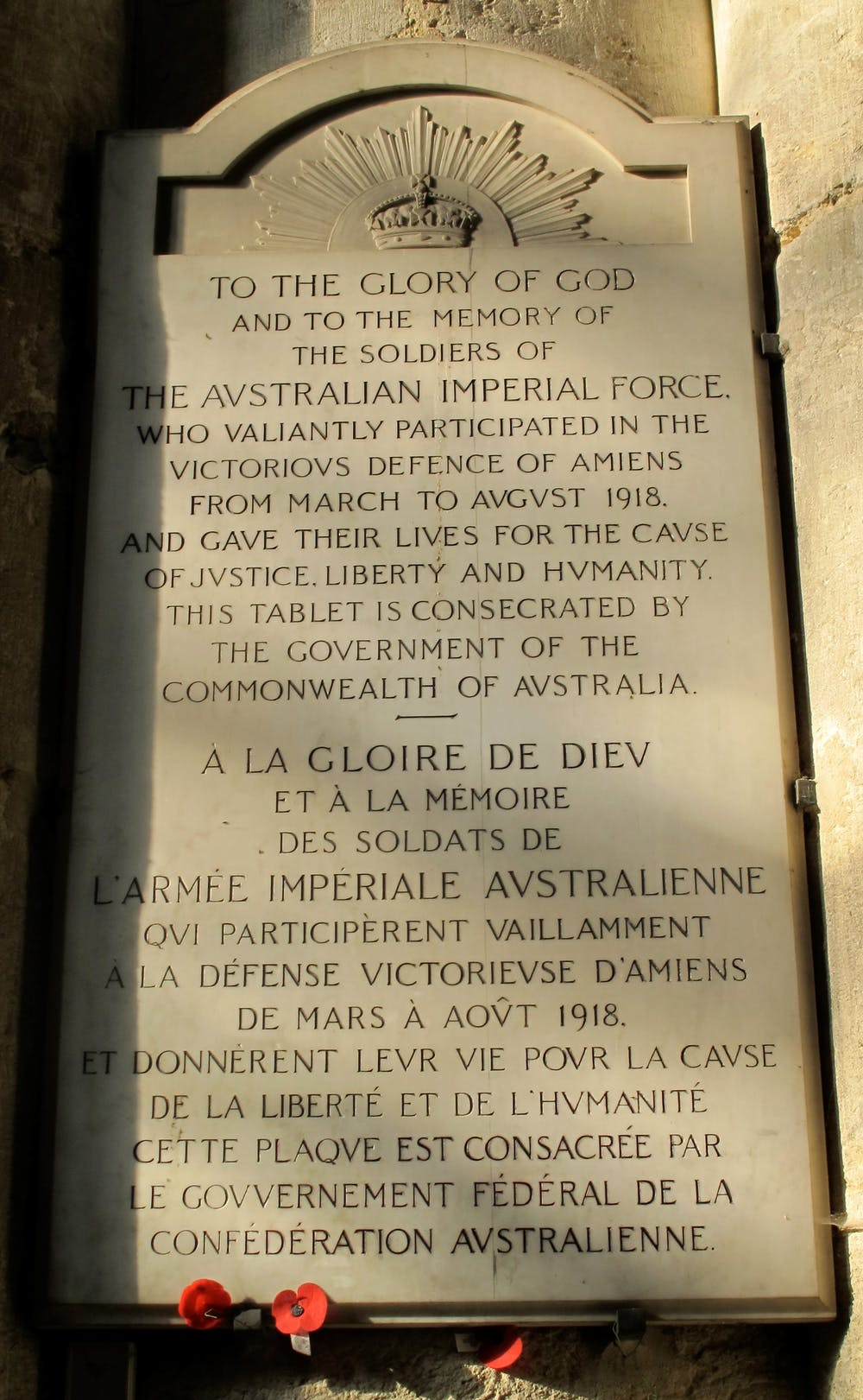 Friday Essay Do The French Care About Anzac