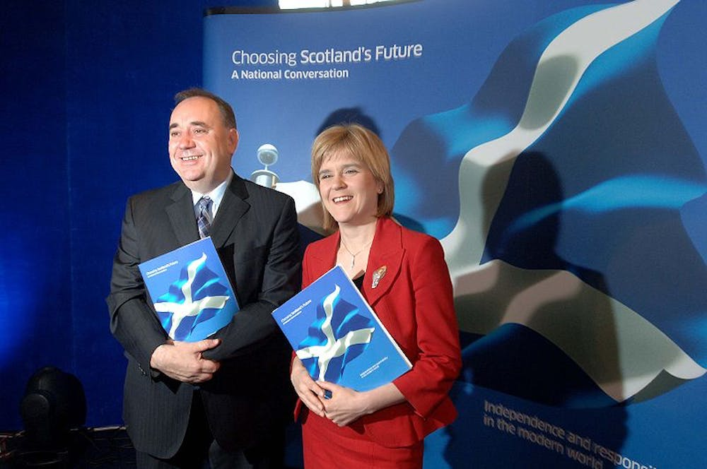scottish independence simple question but no easy answers it s good to talk alex salmond and nicola sturgeon launching a national conversation on scottish independence scottish government