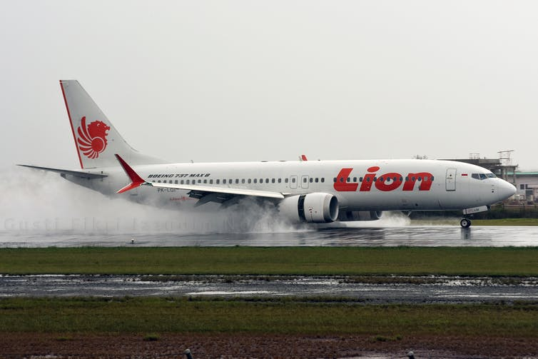 A Lion Air 737 MAX crashed in October 2018.  Gusti Fikri Izzudin Noor / flickr, CC BY-NC-ND