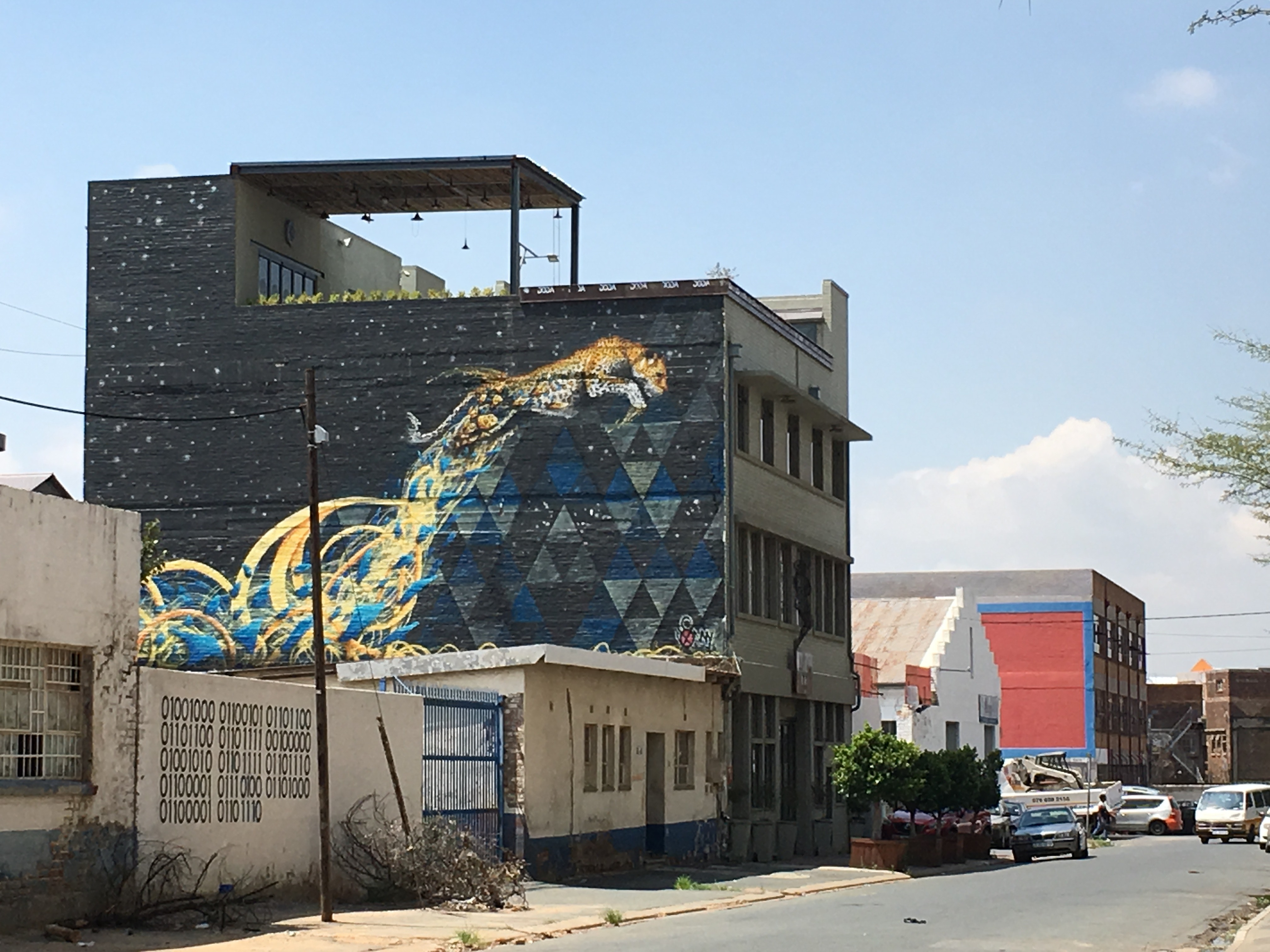 Graffiti is an eye-catching way to create lively spaces in cities