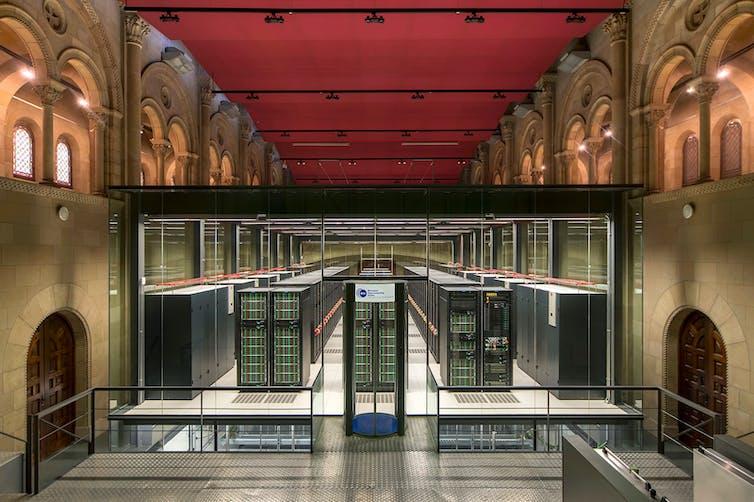 El ordenador MareNostrum del BSC.