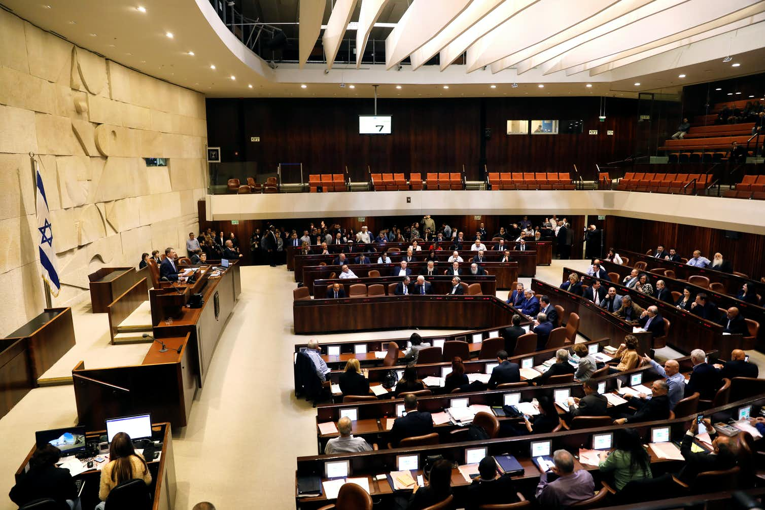 Control of Israel's government, the Knesset, seen here, is at stake in the election. Photo credit: Ronen Zvulun/Reuters