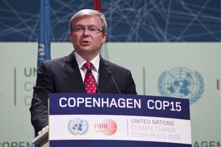 Rudd And The Failed Promise Of Climate Security