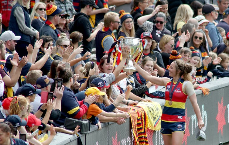 Three years in, is the AFLW kicking goals?