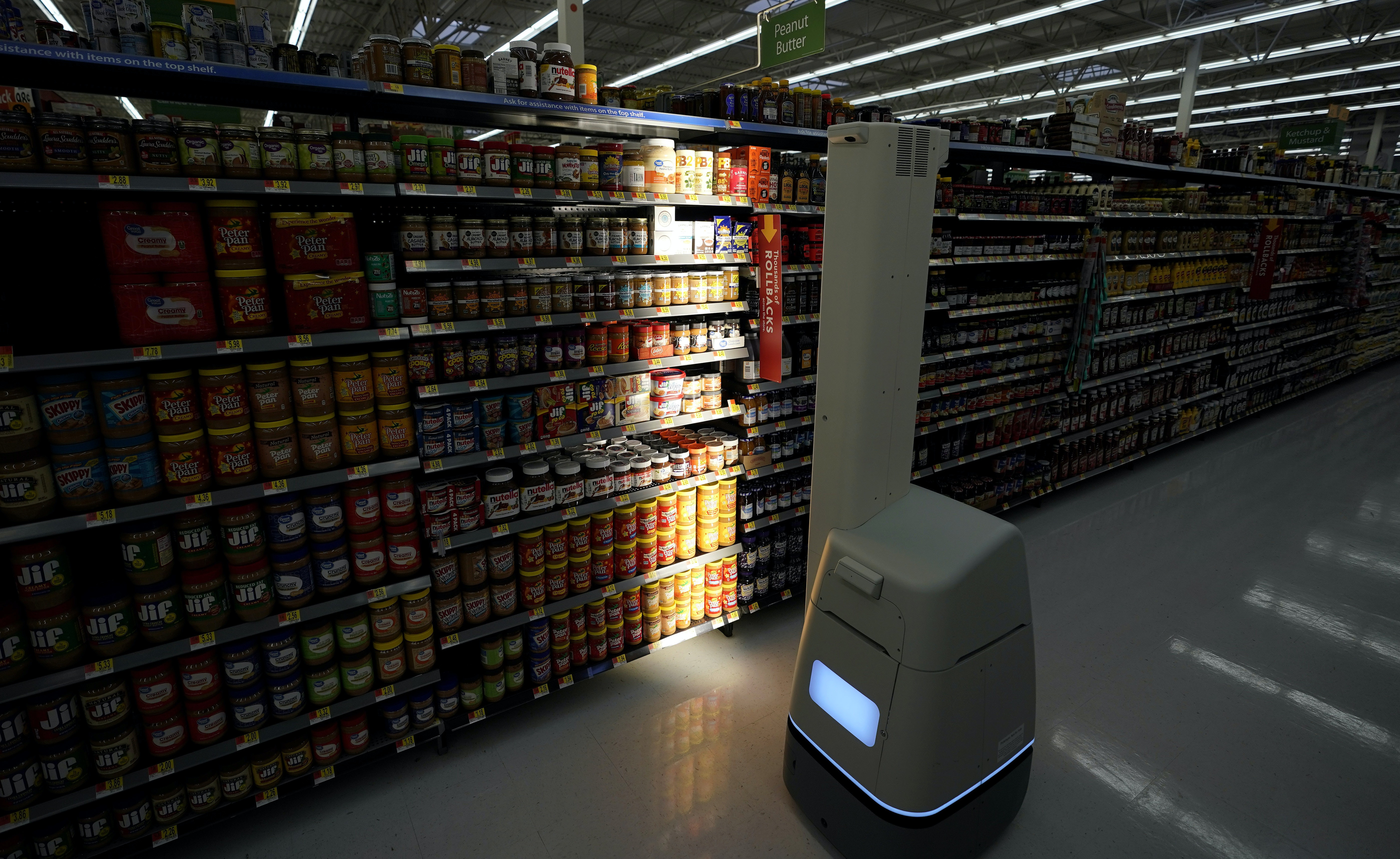 Retailers like Walmart are embracing robots – here's how workers can tell if they'll be replaced