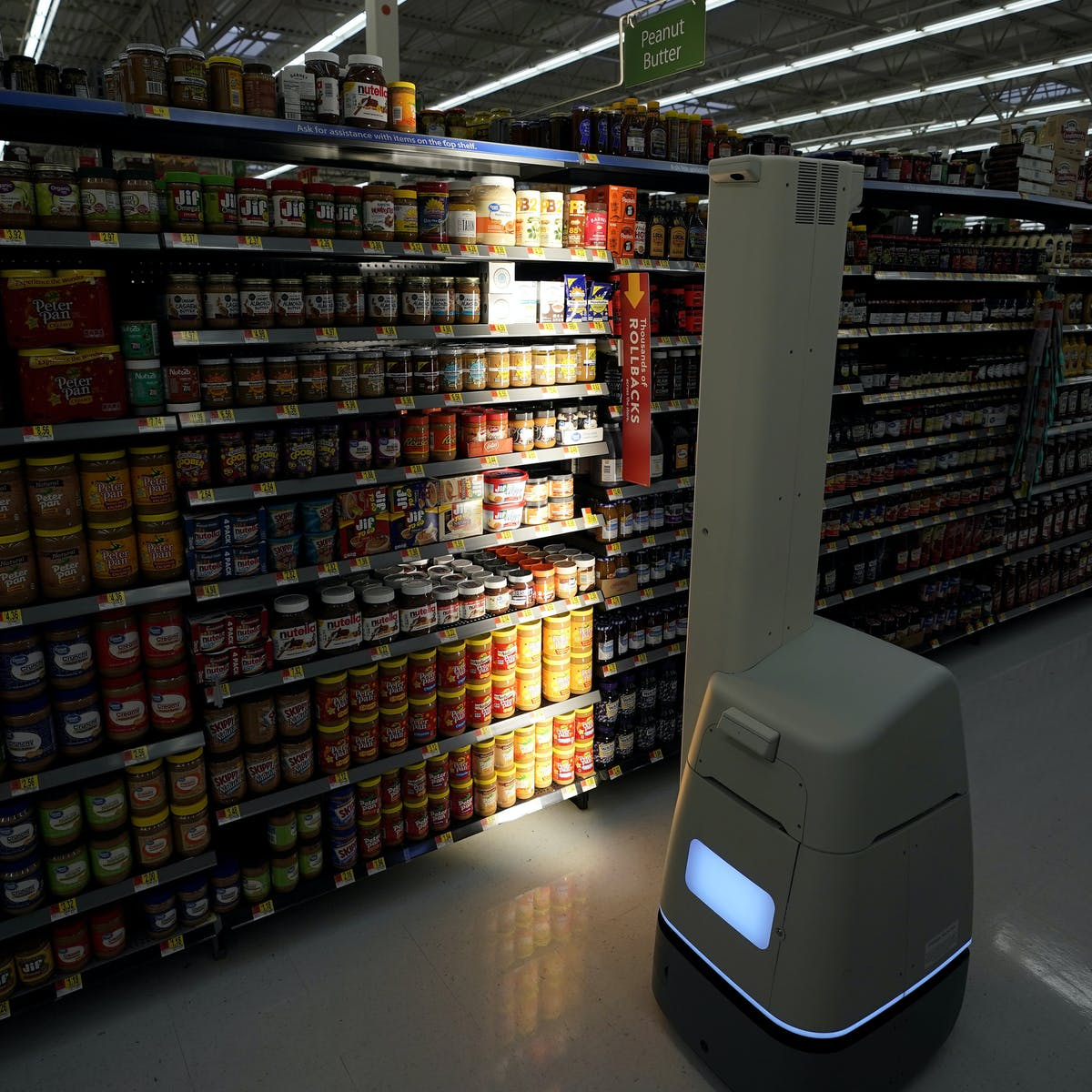 Retailers like Walmart are embracing robots – here's how