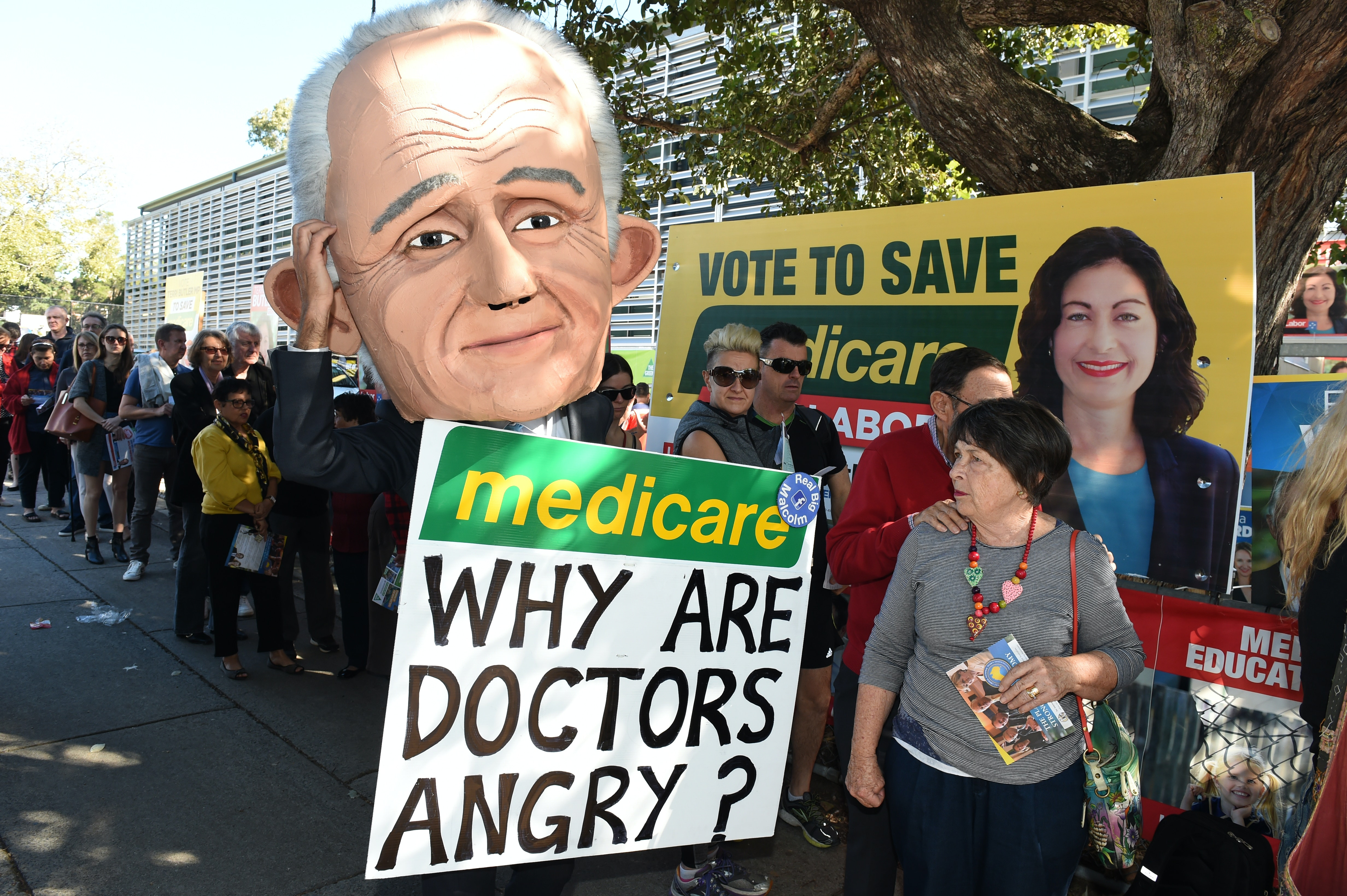 Election campaign lesson #1: don't mess with Medicare