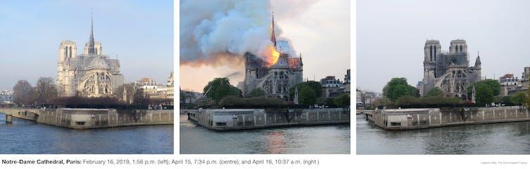 Notre-Dame de Paris: de l'émotion à la reconstruction d'un patrimoine