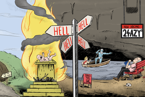 What is hell, exactly? We might joke it's other people, but the Bible has a more complicated answer