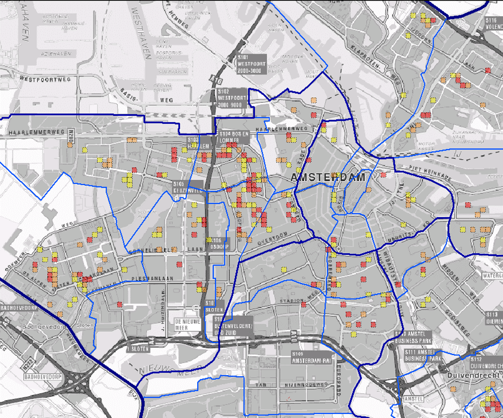 How fairly do algorithms predict where police should be most focused? Credit: Arnout de Vries/Wikimedia Commons