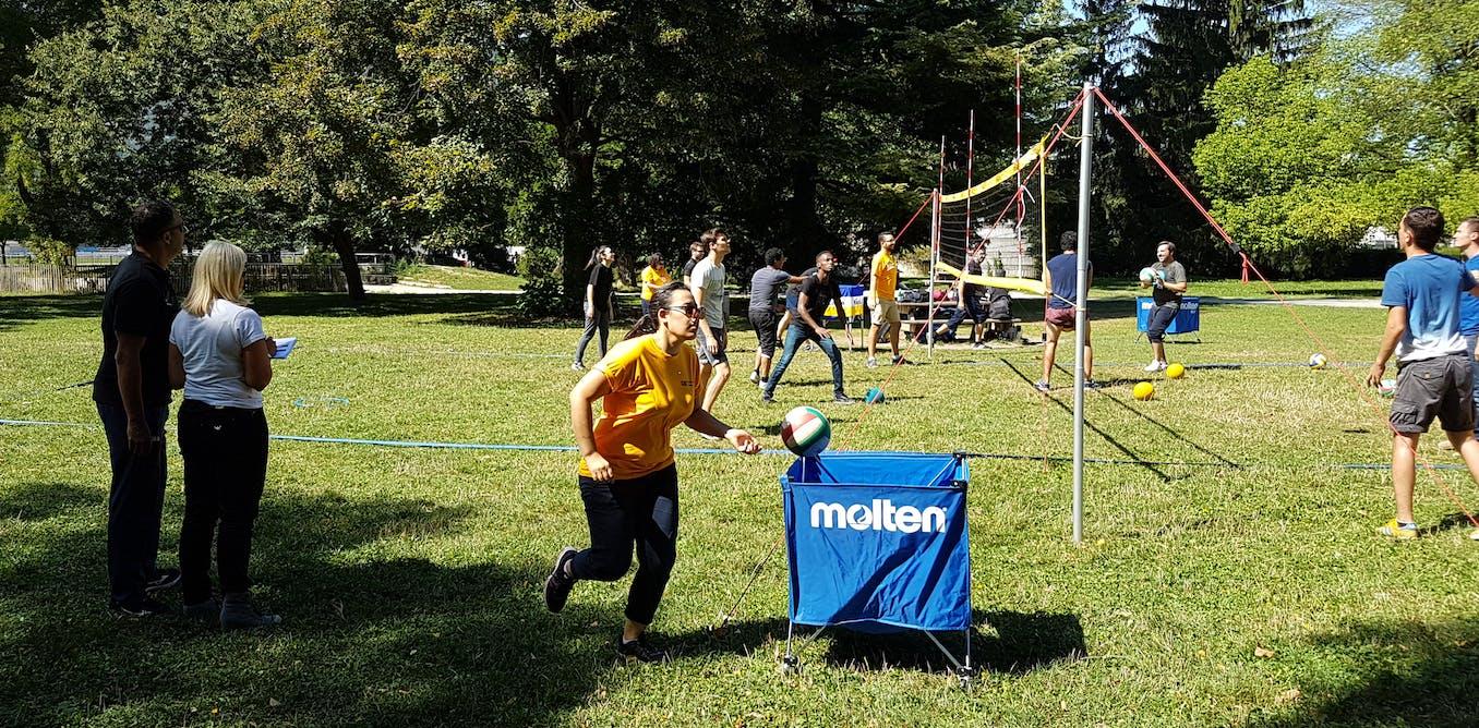 Retour d'expérience : former les managers grâce au volley-ball