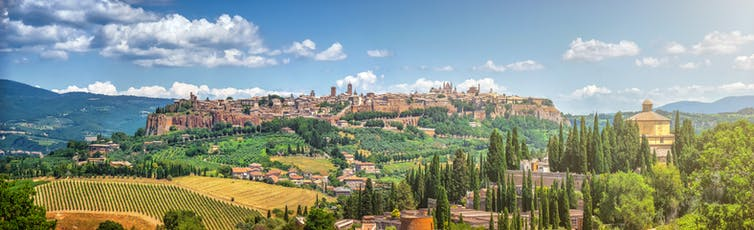 Orvieto, Italy – home of the cittaslow movement. Shutterstock.