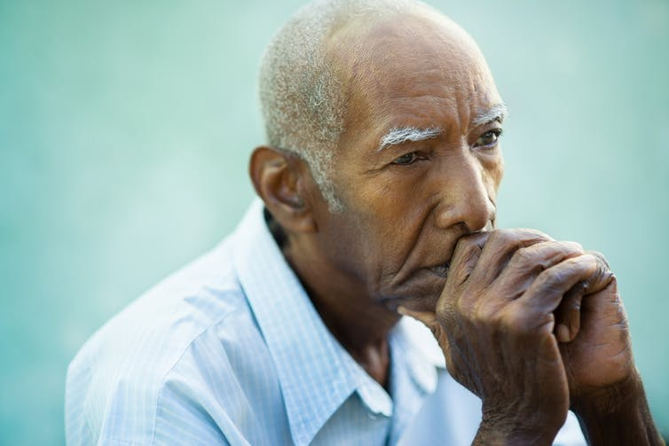 Depression may result from changes in brain chemistry.  Diego Cervo/Shutterstock