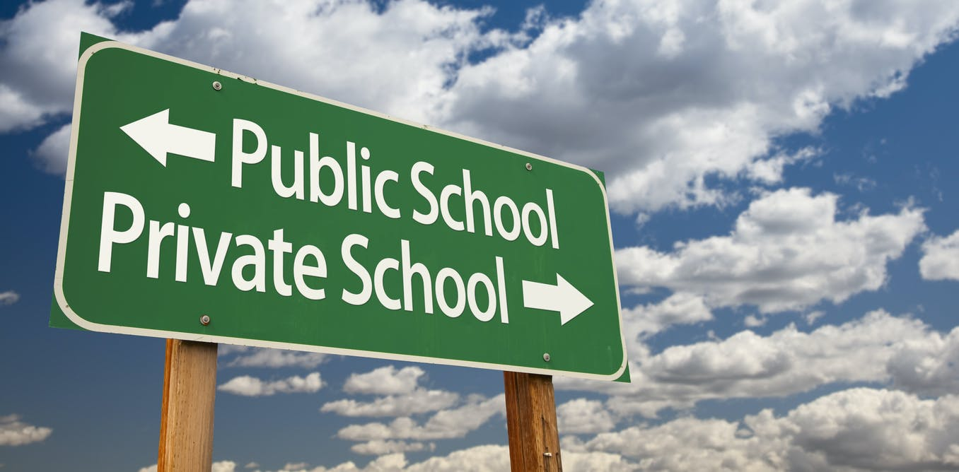 Public schools actually outperform private schools, and with less money