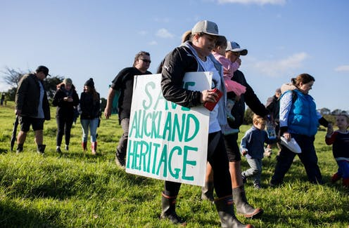 How a bias towards built heritage threatens the protection of cultural landscapes in New Zealand