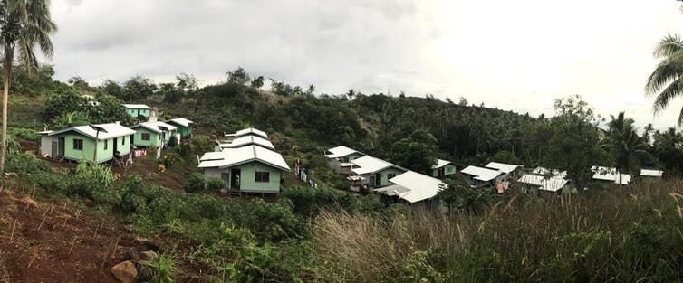 Climate change forced these Fijian communities to move – and with 80 more at risk, here's what they learned