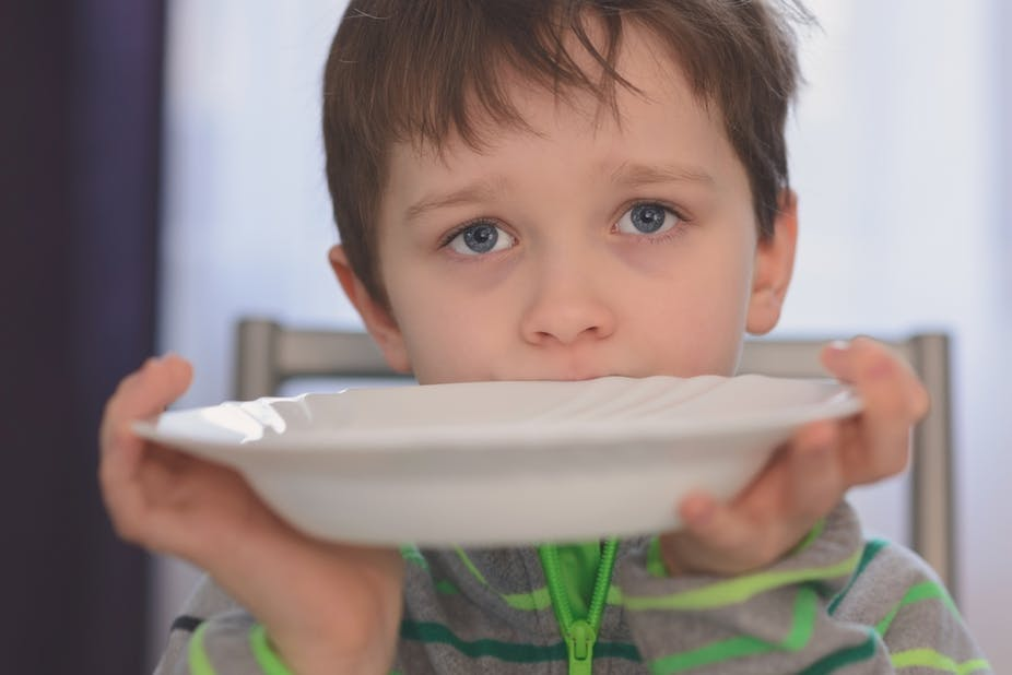 Food poverty: agony of hunger the norm for many children in the UK