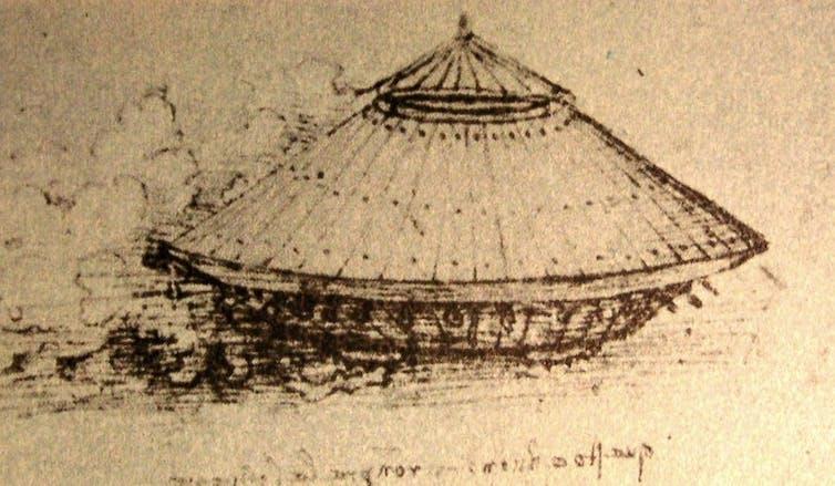 Da Vinci'nin 'tank' prototipi, 15. yüzyılın sonlarında veya 16. yüzyılın başlarında çizildi.